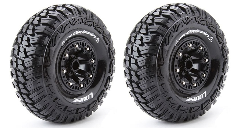 Louise RC - CR-GRIFFIN - 1:10 Crawler Reifen-Fertig Verklebt
