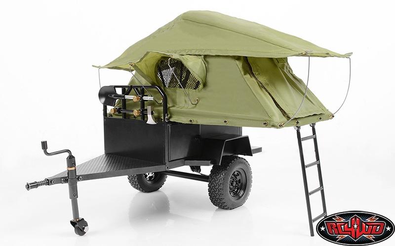 RC4WD Bivouac M.O.A.B Camping Trailer w/Tent 1:10