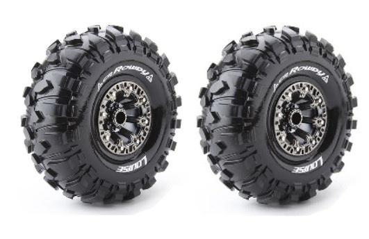 Louise RC CR-ROWDY Crawler Reifen 1:10 - Fertig Verklebt