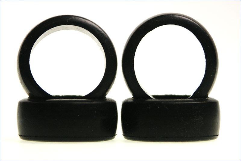 Kyosho Reifen-Set # 1:24 Slick 8,5mm mittelhart, 4 Stück
