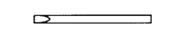 Lötspitze 3 mm longlife, Meißelform