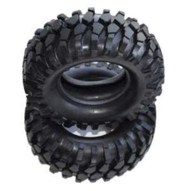 Amewi Reifen Set 96mm mit Einlage D90, Grobprofil 1:10,2