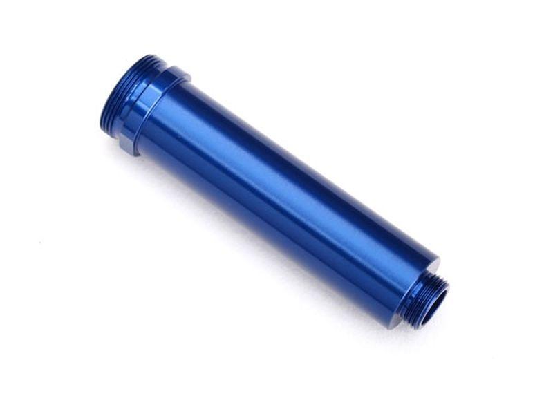 Traxxas Dämpfergehäuse GTR,64mm blau Alu vorne ohne Gewinde