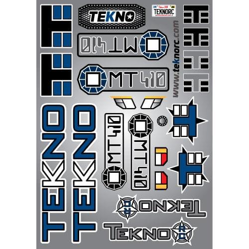 Tekno RC TKR5618 - Decal Sheet (MT410)
