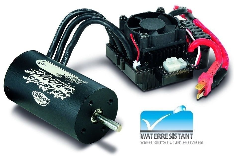 Carson Dragster Sport Brushless-Combo 4s Waterproof