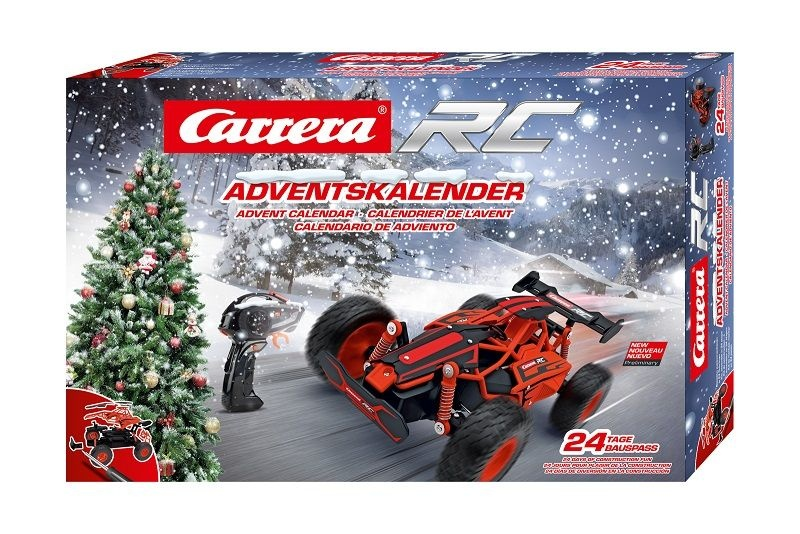 Carrera RC Adventskalender mit 2,4GHz RC Fahrzeug