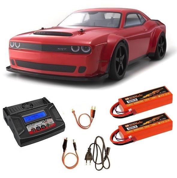 Kyosho Inferno GT2 VE Race Specs Dodge Challenger SRT Demon