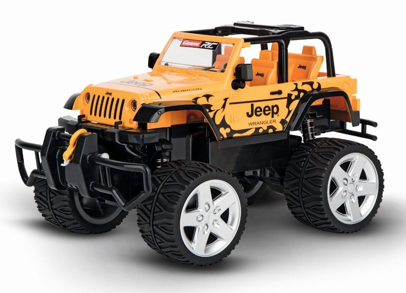 Carrera RC JEEP[R] Wrangler Rubicon brw 2.4GHz RTR 1:16