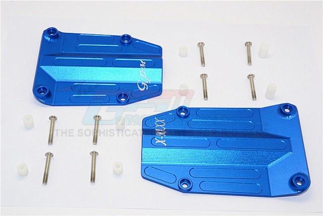 GPM aluminium centre skid plate - 2PCS Set for Traxxas