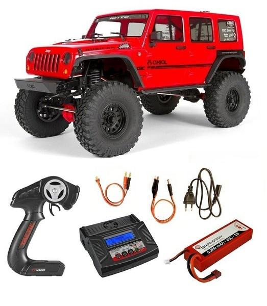 Axial SCX10 II Jeep Wrangler 4WD Elektro 2.4GHz RTR 1:10