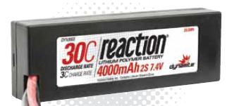 Dynamite Akku Reaction 7.4V 4000mAh 2S 30C LiPo Hardcase