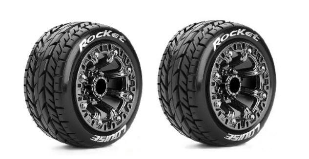 Louise RC ST-ROCKET Truck Reifen 1:16 Fertig Verklebt -Soft-