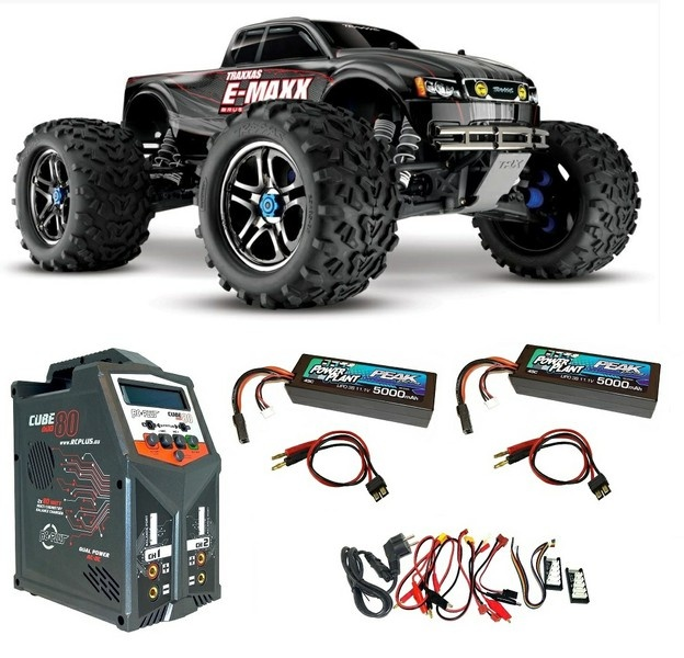 Traxxas E-Maxx Brushless 1:10 RTR TQi 2.4GHZ Bluetooth