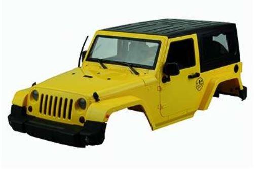 Amewi Scaled Karosserie Geländewagen gelb 1:10