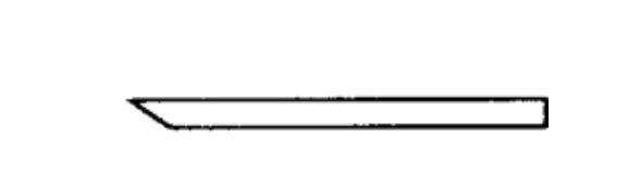 Lötspitze 5 mm longlife, Keilform