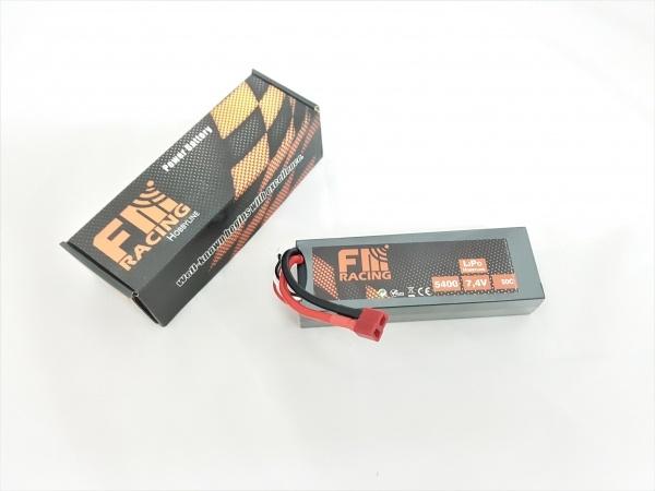 FM-Racing RC Car Akkupack 7,4V mit 6600 mAh der Serie