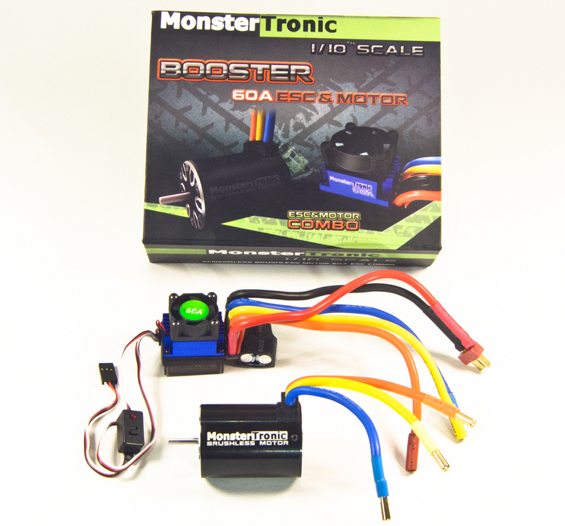 Monstertronic Brushless Combo Regler Motor 8T 4300KV 60A