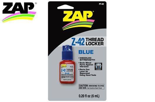 Zap Schraubensicherungslack - mittelfest Z-42 Blue - 6ml
