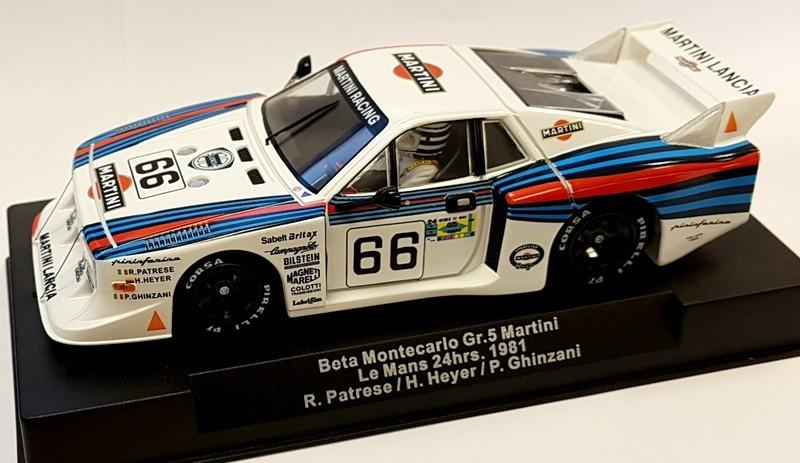 Sideways Lancia Beta Montecarlo Gr.5 Martini LeMans 24h 1981