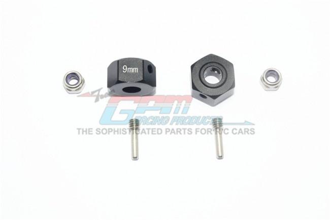 GPM aluminium hex adapters 9mm - 6PC Set for Arrma Granite