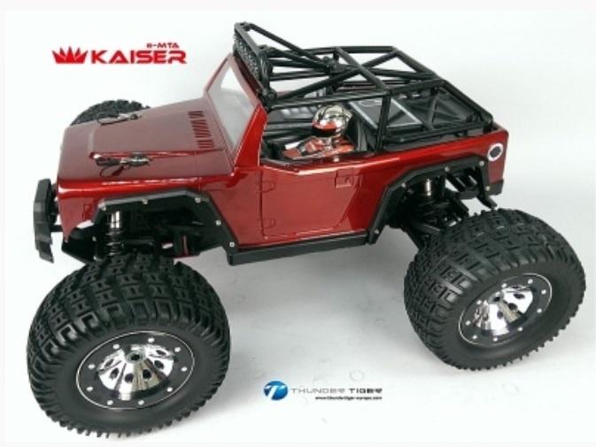 Thunder Tiger KAISER e-MTA BL 4WD 6S Monster-Truck 2.4GHz