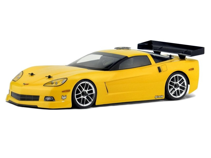 HPI Chevrolet Corvette C6 Karosserie (200mm/WB255mm) 1:10