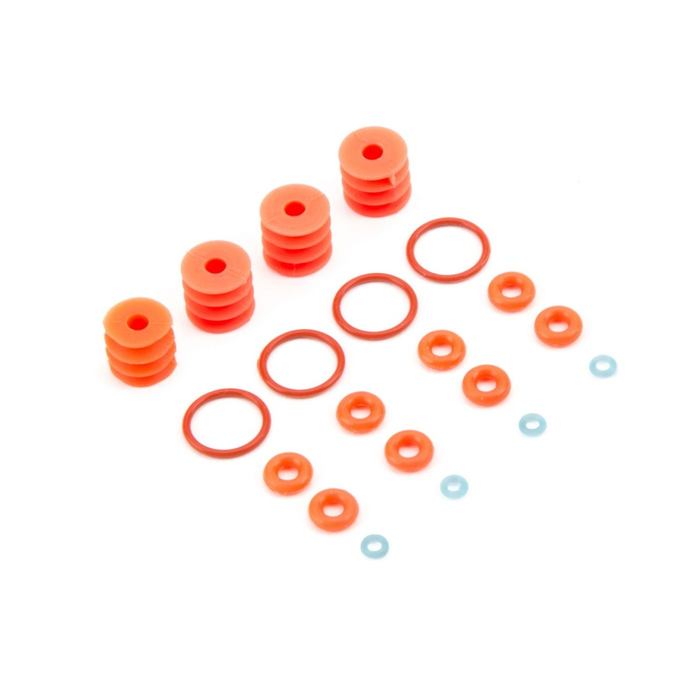 Losi FR/RR Shock Seal & Limiter Set: Baja Rey (LOS233004)