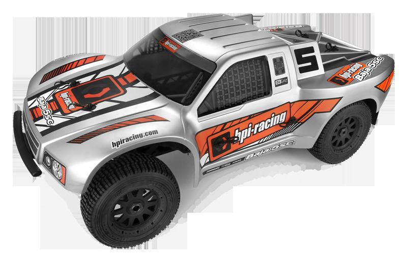 HPI Baja 5SC Short Course Truck matt/silber RTR 1:5
