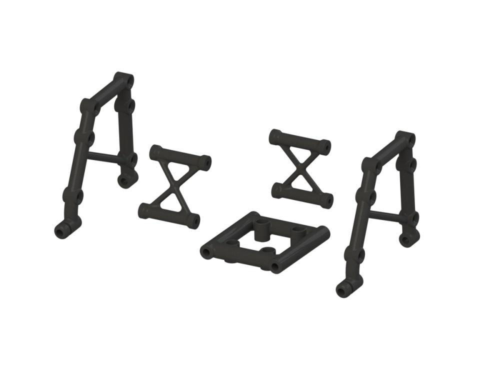 Arrma RC Überrollbügel Set Mitte Kunststoffteile