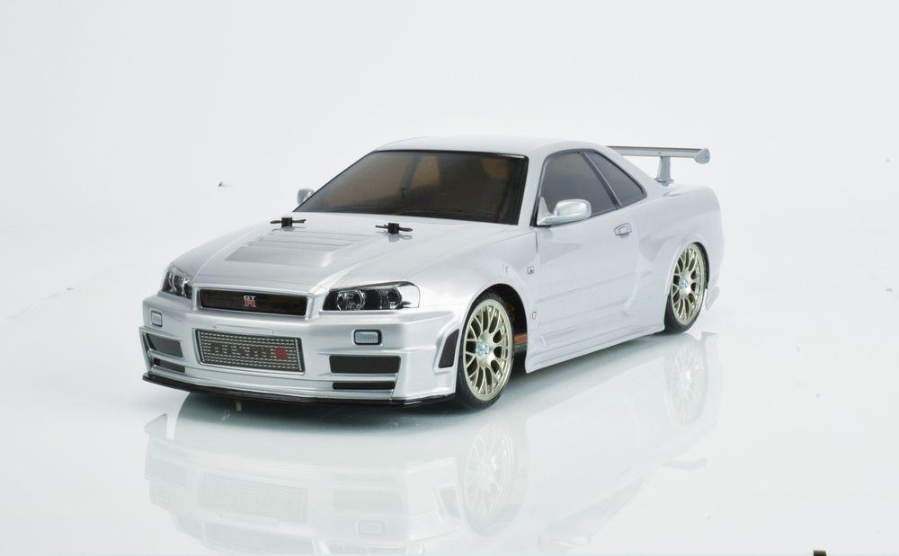 Tamiya Nismo R34 GT-R Z-Tune (TT-02D) Bausatz 1:10