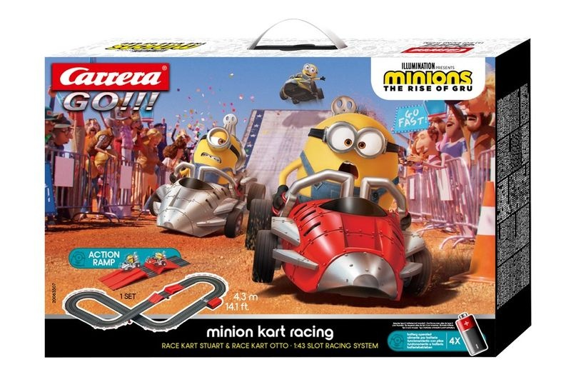 Carrera Go!!! Minion Kart Racing