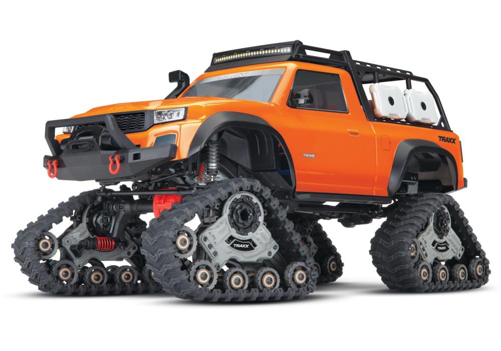 Traxxas TRX-4 mit All-Terrain Traxx orange 4WD Scale-Crawler
