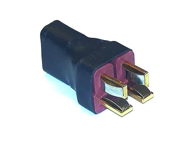 Kurzadapter T-Verbinder-parallel, 1 Stück, lose