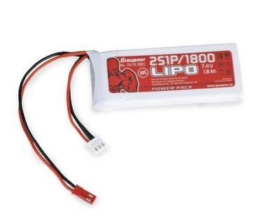 Graupner Power Pack LiPo 2S / 1800 mAh, 7,4 V, 30 C, BEC