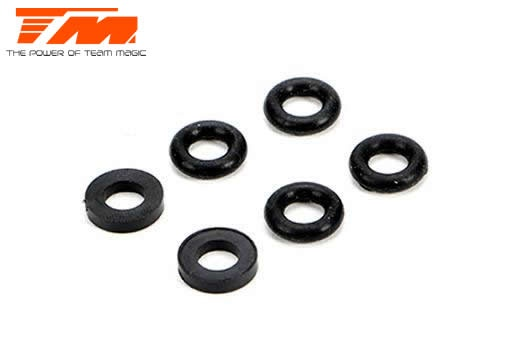 Team Magic Spare Part - E5 - Shock O-Ring & Washer