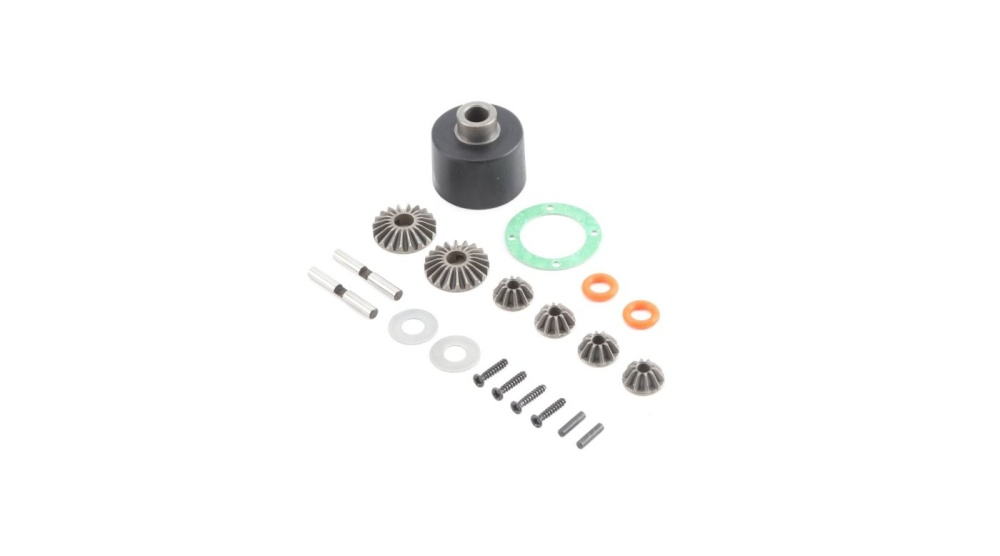 Losi HD Diff Housing & Internals: Baja Rey (LOS232004)