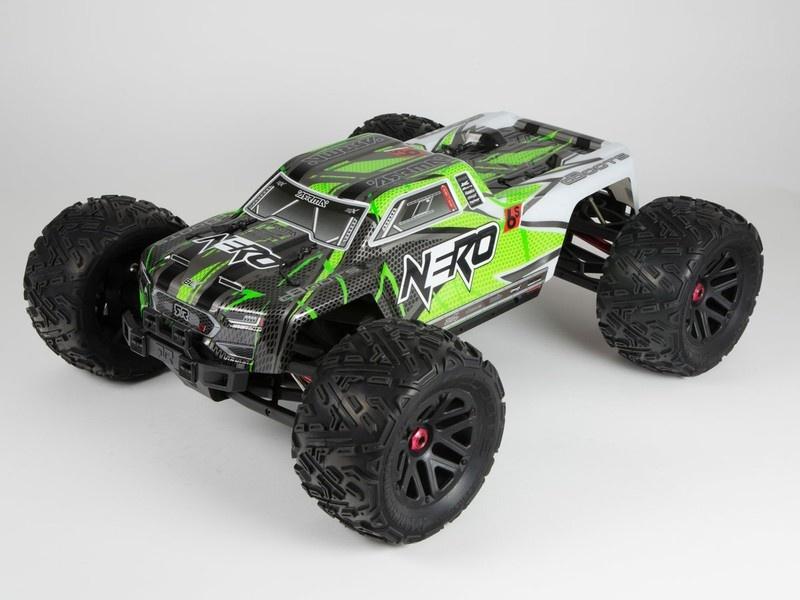 Arrma RC Karosserie Nero 6S BLX grün (1)