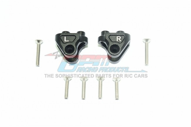 GPM aluminium rear upper axle mount set for suspension