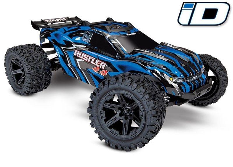 Traxxas Rustler 4x4 Stadium Truck XL-5 TQ2.4GHz Brushed blau