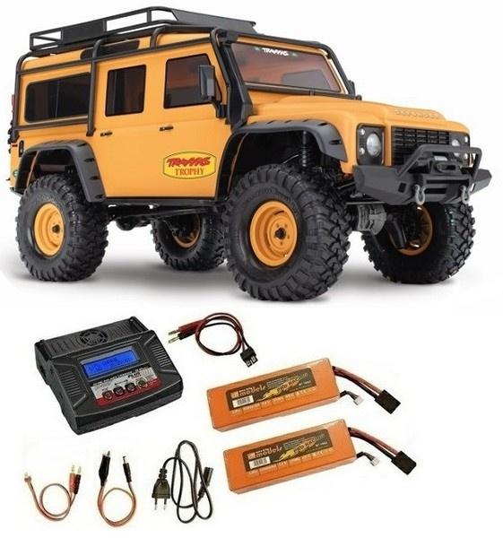 Traxxas TRX-4 Land Rover sand/matt Lim.Trophy-Edit. Crawler