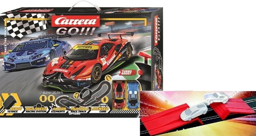 Carrera Go!!! Race the Track inklusive Action Ramp als Bonus