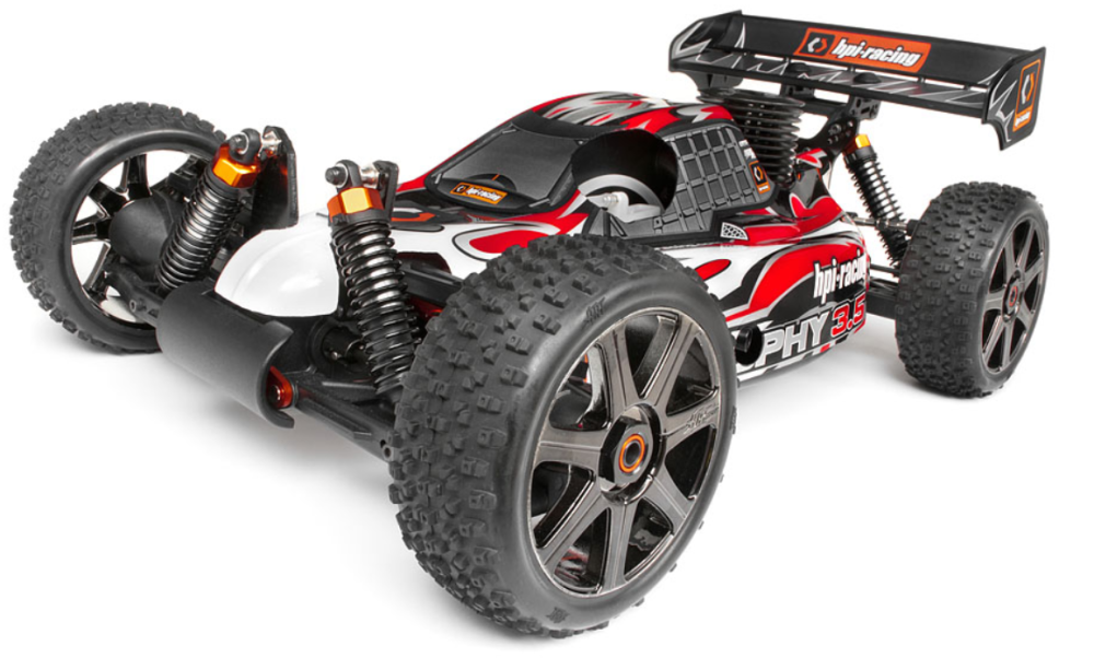 HPI Trophy 3.5 Nitro Buggy 2.4GHz RTR 1:8