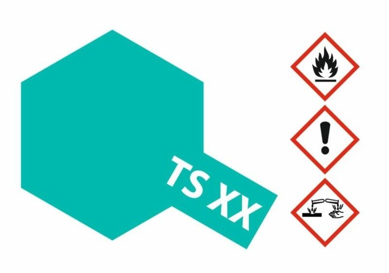 Tamiya Acryl-Sprühfarbe TS-XX Kobaltgrün glänzend 100ml