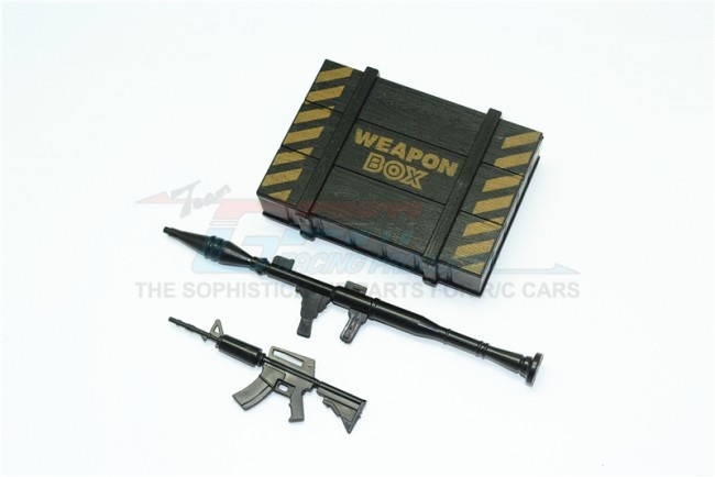 GPM Scale Accesories: Weapon Box+ Weapon for crawlers (B) -