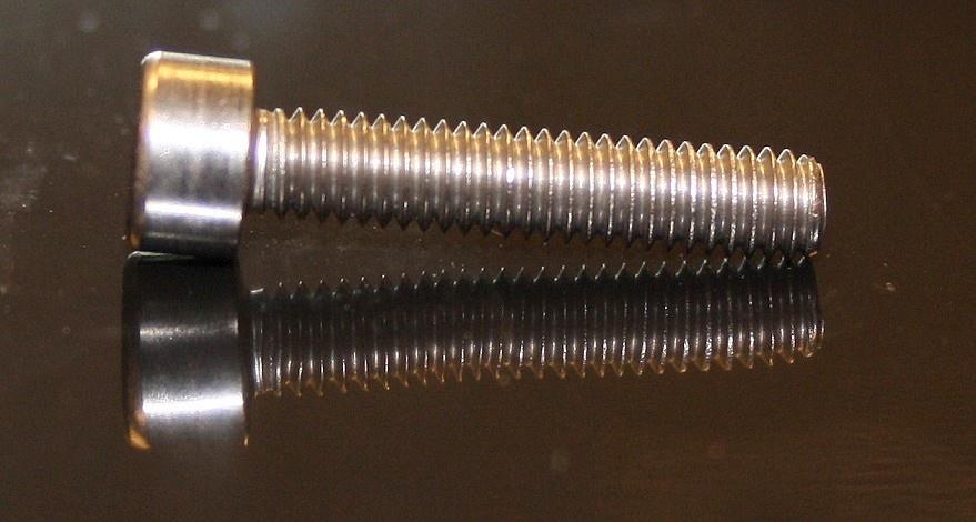 Edelstahl Innen-Sechskant-Schrauben M4x20 10 Stück