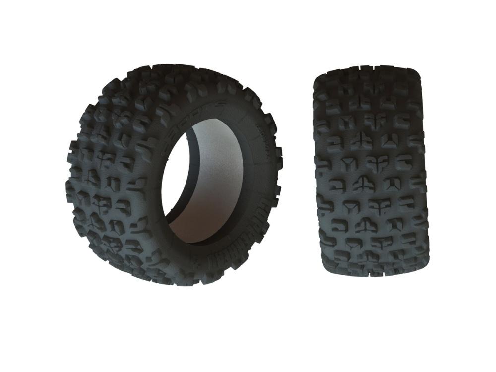Arrma Dboots Copperhead2 SB MT Tire & Inserts (2)