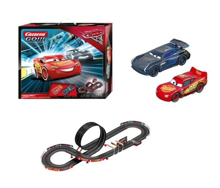 Auslauf - Carrera Go!!! Disney Pixar Cars 3 - Finish First!