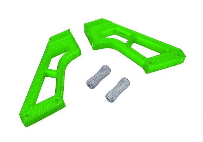 JS-Parts ultraflex Spoilerhalter grün passend für