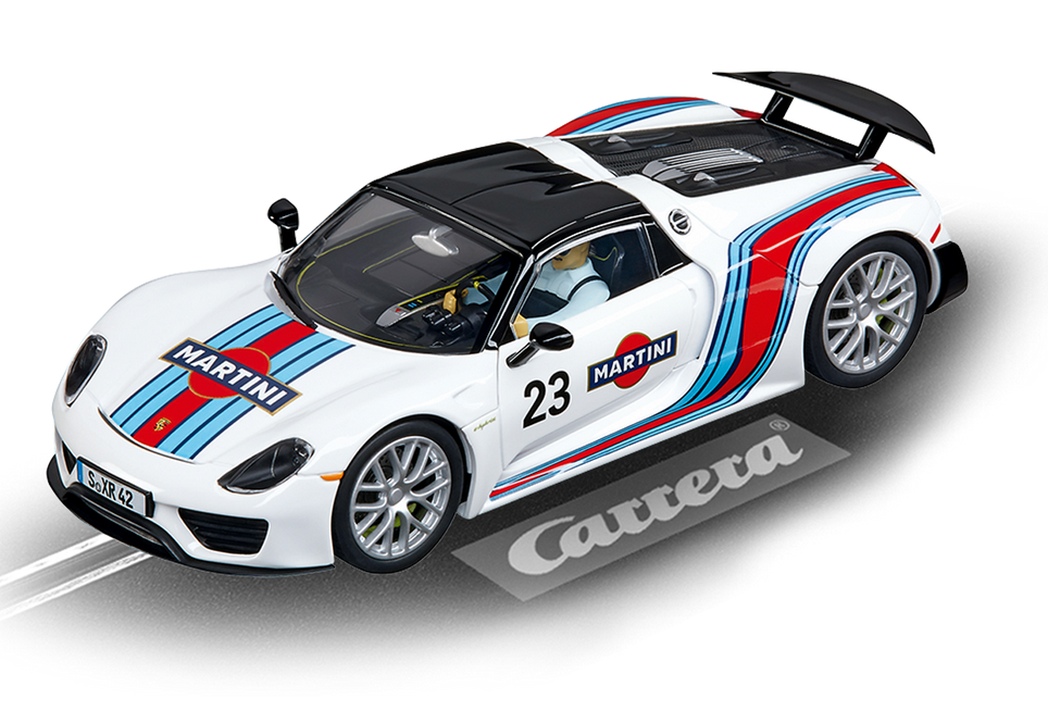 Carrera Evolution Porsche 918 Spyder Martini Racing, No.23