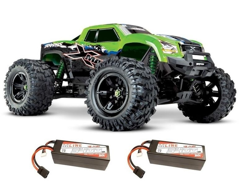 Traxxas X-Maxx 4x4 E-Monstertruck Brushless TQi2.4GHz